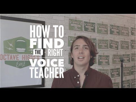 How Do I Find the Right Voice Teacher?