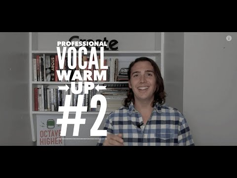 Professional Vocal Warm Up - w/ Scales for Men and Women