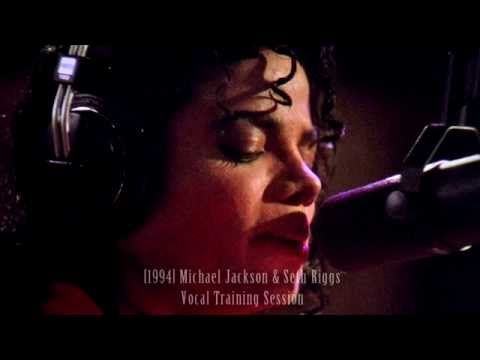 Michael Jackson & Seth Riggs Vocal Training Session