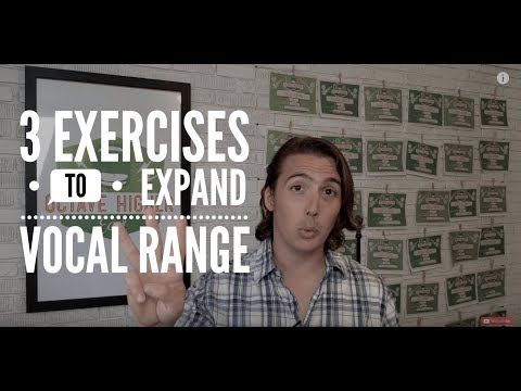 How to Expand Your Vocal Range with 3 Easy Exercises