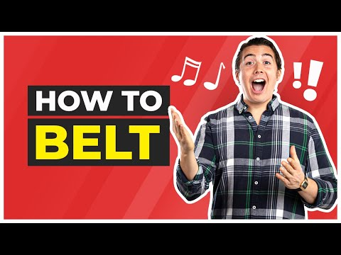 Belting: How to Belt Your Singing Voice