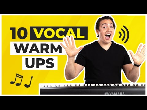 10 Singing Warmups - Ridiculously Easy and Effective