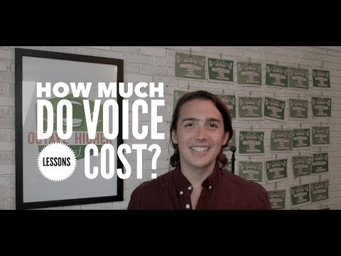 How Much Do Voice Lessons Cost in Austin, TX?