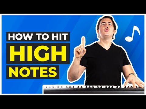 How to Hit High Notes: 15 Easy Exercises to Get You There