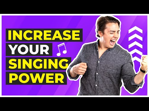 5 Exercises to Increase Your Singing Power Like Crazy!