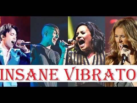 Famous Singers High Notes with INSANE VIBRATO