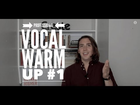 Professional Singing Warm Up - All Male and Female Keys