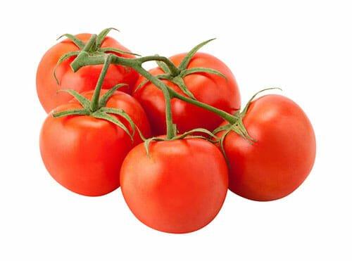 5 vine ripe tomatoes