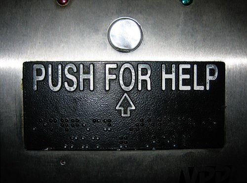 push for help button