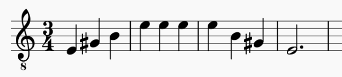 a musical scale for men