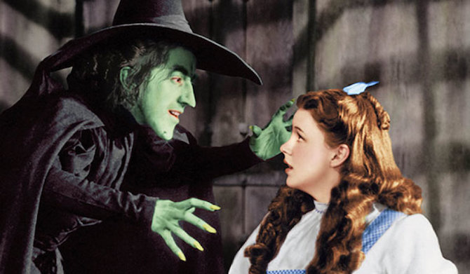 Wicked Witch of the West from the film The Wizard of Oz