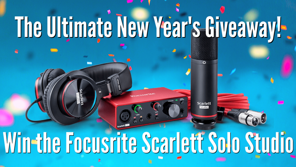 New Year's Eve Ultimate Recording Kit Giveaway